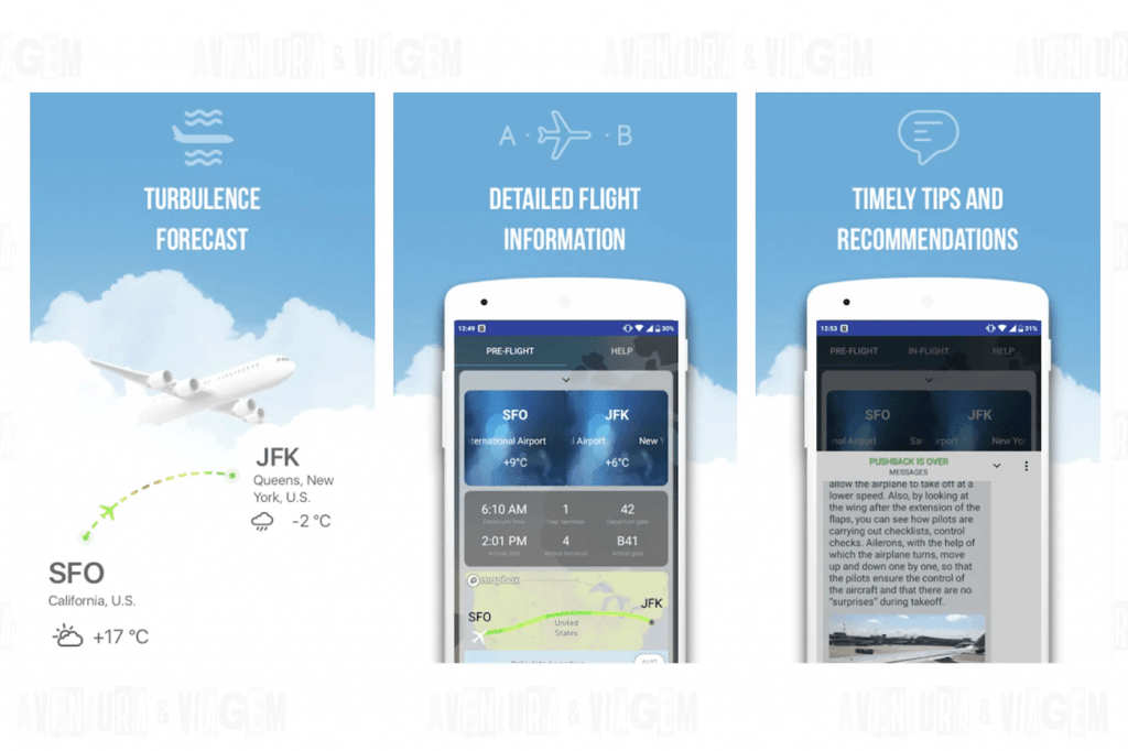 Skyguru um dos aplicativos indispensáveis